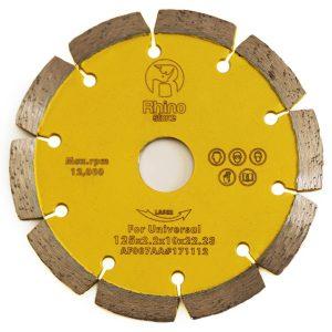 Discos de corte laser segmentado universal