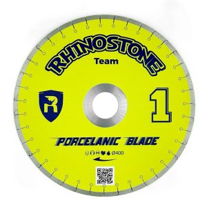 Porcelanic-race rhinostone